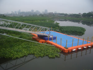 Floating Dock Floating Pontoon Bridge Dock Float with Factory Direct Sale Price pictures & photos