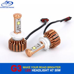Automobile LED Light 30W 3000lm H7 H1 H3 9005 (HB3) CREE LED Headlight 6000k pictures & photos