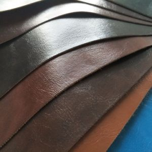 Latest Reasonable Price Furniture PU PVC Synthetic Leather pictures & photos