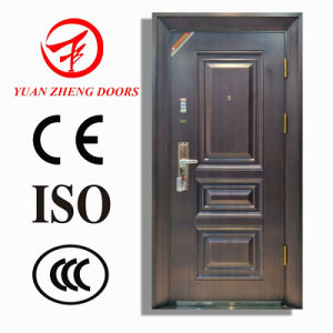 High Quality Copper Coated Security Steel Door pictures & photos