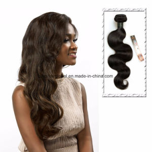 Brazilian Virgin Hair Body Wave Natural Color Three Pieces in One Pack pictures & photos