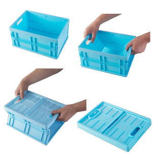 Folding Palstic Storage Box pictures & photos