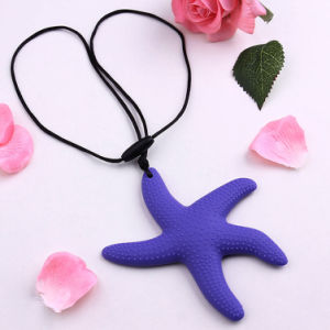 Fashion Sea Star Pendant Silicone Necklace Jewelry New Material Necklace for Women pictures & photos