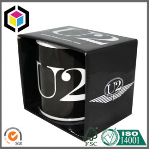 Colorful Glossy Corrugated Mug Packing Box with Holder pictures & photos