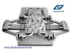 Plastic Injection Collapsible Fitting 110*75mm Tee Mould pictures & photos