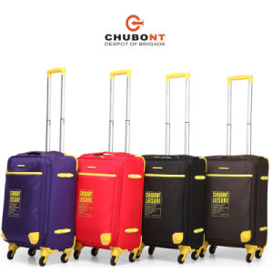 Chubont High Qualitty Four Wheels Fashion Travel Luggage Set with Paded Lock pictures & photos