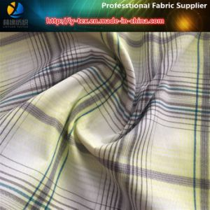 Polyester/Nylon Blended Yarn Dyed Jacquard Check Fabric for Garment (YD1165) pictures & photos
