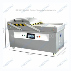 Double Chamber Meat Vegetables Vacuum Packing Machines (DZ-900/2SB) pictures & photos