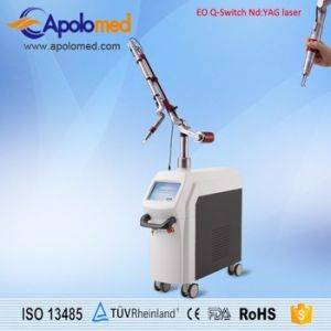 Top Hat Profile Eo Q-Switch ND YAG Laser Machine for Pigmnet and Tattoo Removal pictures & photos
