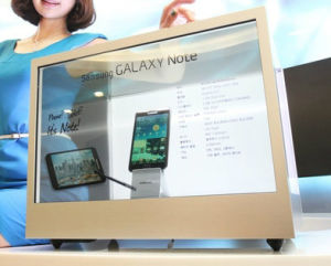 24 Inch Transparent Display Cases for Advertising Promotion pictures & photos