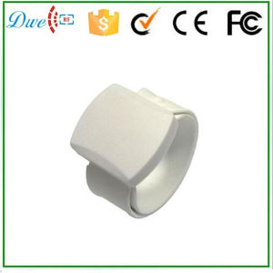 White Color Long Range UHF RFID Wristband ISO18000-6c Gen 2 H3 Inner Chip pictures & photos