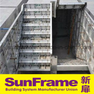 Aluminium Stair Board Formwork Frabrication on-Site pictures & photos