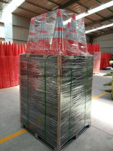 """28"""" 7lbs Black Base Flexible Fluorescent Oranfe PVC Road Safety Cones Traffic Cones pictures & photos"""