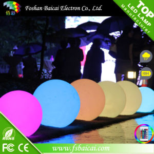 High Quality Christmas RGB Waterproof LED Moon Light Ball pictures & photos