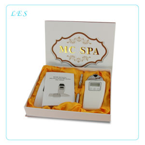 Nu Skin Galvanic Microcurrent SPA Massager for Cellulite Reduction Device 3 Optional Heads LCD Display Skin Care Face Lift pictures & photos