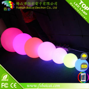Solar Powered 20, 30, 40, 50, 60cm Diameter LED Glow Ball IP68 for Swimming Pool or Garden pictures & photos