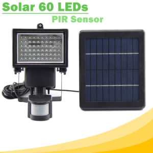 60 LED High Lumen Solar Flood Light with PIR Motion Sensor SL1-17 pictures & photos