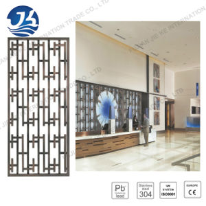 Customized Stainless Steel Hotel Metal Folding Screen