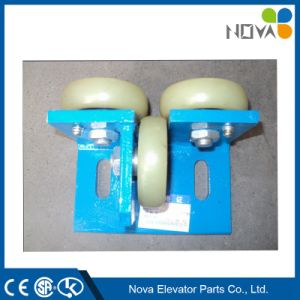 Elevator Rolling Guide Rail Shoes, Elevator Shoes for Elevator Cabin and Counterweight pictures & photos