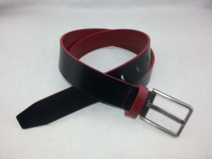 Trendy Man Buckle Top Grain Cowhide Leather Belt (RS-Dl044) pictures & photos