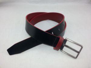 Trendy Man Buckle Top Grain Cowhide Leather Belt RS-Dl044 pictures & photos