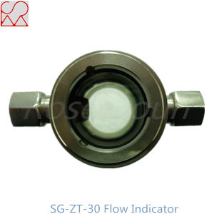 Tempered Glass Oil Sight Glass Indicator with Nozzle pictures & photos