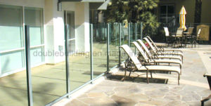 Plexiglass Baluster, Glass Railing Post in Veranda, Aluminum Railing pictures & photos