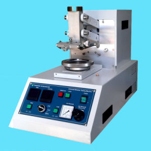 Fabric Abrasion Testing Machine with Calibration Certificate pictures & photos