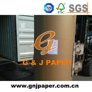 Excellent Quality Roll Size Woodfree Offset Paper for Printing pictures & photos
