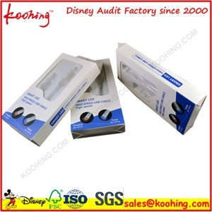 Electronic Products and Cosmetic Hanger Plastic Packing Box with Blister Tray Insert pictures & photos