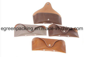 Popular Simple Type Soft Leather Eyeglasses/Sunglasses Case (DS3) pictures & photos
