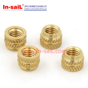 Quick- Tek Brass Insert Nut for Thermoplastic Plastic pictures & photos