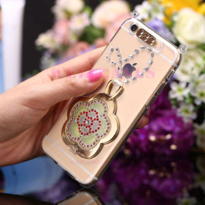 High Quality Quicksand Sunflower Phone Case with Low MOQ pictures & photos