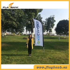 Exhibition Aluminium Digital Printing Feather Flag/Flying Flag pictures & photos