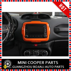 Auto Accessory ABS Material Orange Style Central Trim for Renegade Model (1PC/SET) pictures & photos