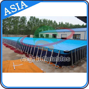 Popular Ce Certificate Metal Frame Pool, Swimming Pool Equipment pictures & photos