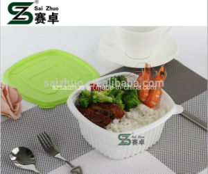 950ml Square Microwaveable Disposable Lunch Box pictures & photos