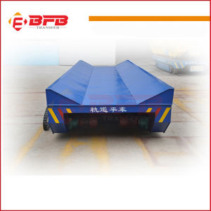 Material Handling Transfer Cart for Heavy Duty Manufacturing on Rail pictures & photos