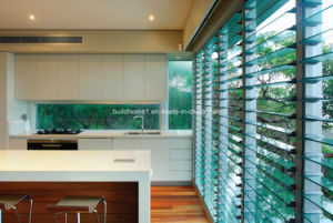 Air Flow Ventilation Aluminium Frame Laminated Glass Louvre Window pictures & photos