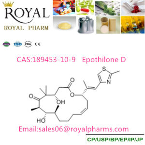 Epothilone D CAS: 189453-10-9 Purity 99% Produced From GMP Manufacturer pictures & photos