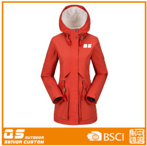 Women′s Long Sport Fashion Jacket for Traveling pictures & photos