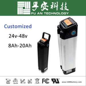 High Quality Rechargeable 36V 10ah Lithium Ebike Battery Pack pictures & photos
