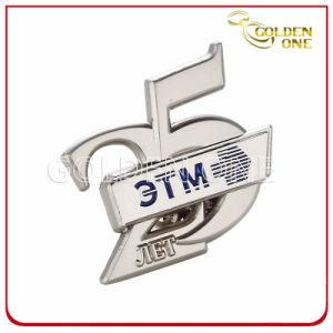 Nickel Finish Custom Design Hard Enamel Metal Lapel Pin pictures & photos