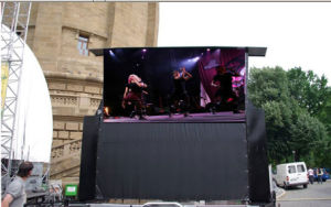 P8 Outdoor SMD 640*640 Die-Casting Aluminum Rental LED Display pictures & photos