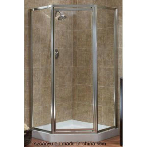Aluminium Frame Tempered Glass Shower Room Patition pictures & photos