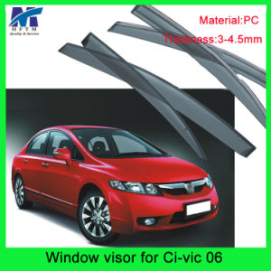 Auto Accesssories Window Roof Visors Sun Guard for Hodna Civic 06 pictures & photos