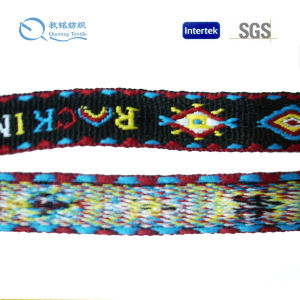 Factory Supply Eco-Friendly and High Quality Jacquard Webbing pictures & photos