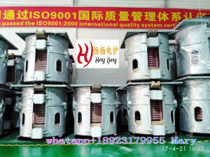 Medium Frequency Induction Electric Melting Furnace for Zinc/Copper Ore/Steel Ore/Gold Ore pictures & photos