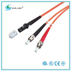 MTRJ/PC-ST/PC mm 50/125 Duplex 2m Fo Patch Cord pictures & photos