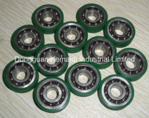 6001zz Bearing Lining with Polyurethane Rubber